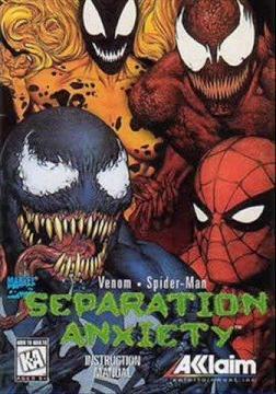 venomspiderman separation anxiety spiderman wiki
