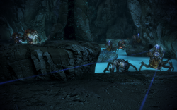 Attican traverse krogan team central chamber mobs