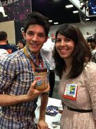 Colin Morgan and A Fan Comic Con 2012