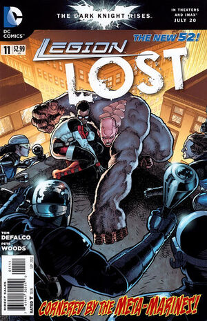Cover for Legion Lost #11