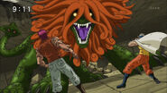 Toriko and Zebra face off Salamander Sphinx