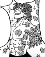 Toriko surrounded by Butterfly Therapy