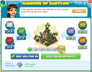 Upgrade Garden Of Babylon-announce