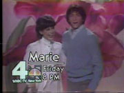 WNBC-TV's Marie Video ID For Friday Night, December 19, 1980