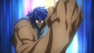 Toriko&#39;s 3-Hit Nail Punch OVA