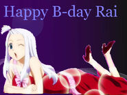 Rai B-Day by Animaltamer7