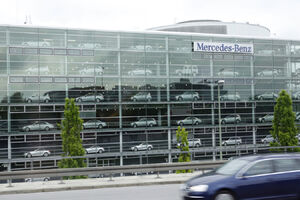 Mercedes Benz, Munich, Bavaria