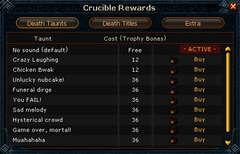 Crucible Rewards