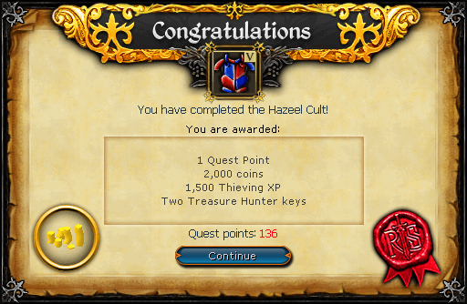 Hazeel Cult Reward 2