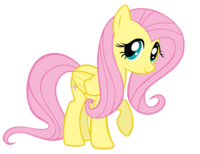 FluttershyCuteVector