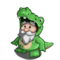 Alligator Gnome-icon