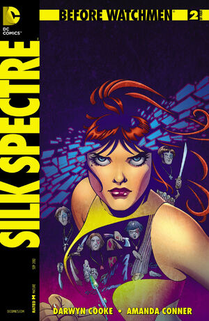 Cover for Before Watchmen: Silk Spectre #2