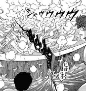 Toriko and Komatsu surprised by the cut of the new knife