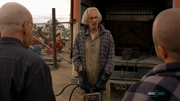 Larry Hankin on Breaking Bad