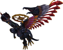Bahamut Render FFX