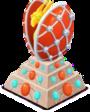 Estátua Ovo de luxo