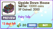 Upside Down House Market Info (July 2012)