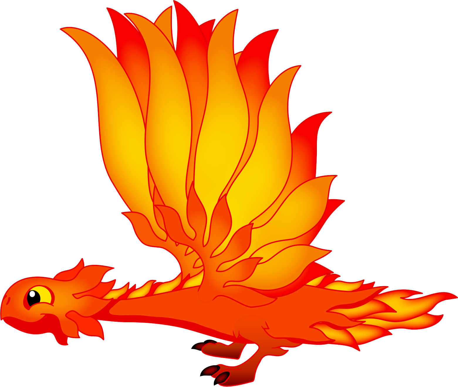 BlazingDragonAdult