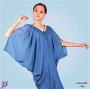 Cherry Winter's Blue Chariot Parade Dress
