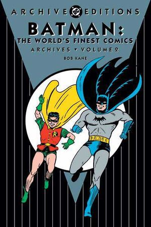 Cover for Batman: The World's Finest Comics Archives #2