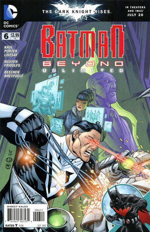 Cover for Batman Beyond Unlimited #6