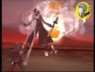 Izanagi in battle