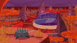 Sons of Mars martian city background