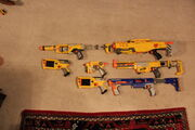 My Nerf Guns
