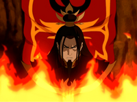 Ozai angry