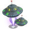 Flying Saucer Tree-icon