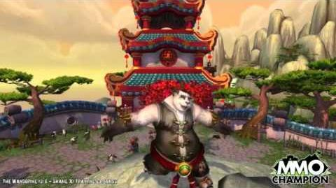 Pandaren Male Dance - Every day I'm Shuffling