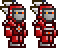 Terraria Adamantite Armor Mask Male Female