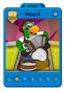 Petey K Playercard New