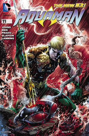 Cover for Aquaman #11