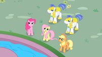 Fluttershy &quot;come down from there&quot; S01E22