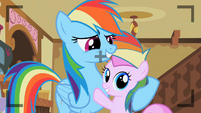 Rainbow Dash with Pia Colada S2E8