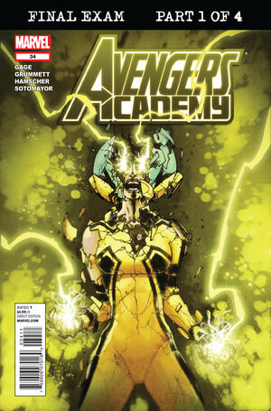 Avengers Academy Vol 1 34