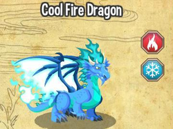 cool fire dragon elemen fire ice waktu bertelur cool fire dragon 4 jam