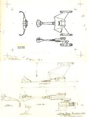 D7-class engineering drawing by Matt Jefferies