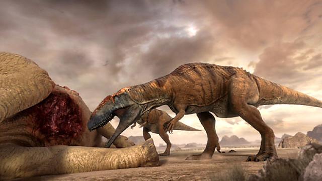 Mapusaurus vs Saurophaganax - Dinosaurs Forum