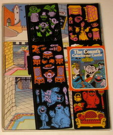 Colorforms 1977 count&#39;s castle 2