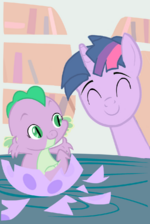 Baby Barb and Dusk Shine by angel147196