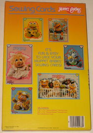 Colorforms 1984 muppet babies sewing cards 2