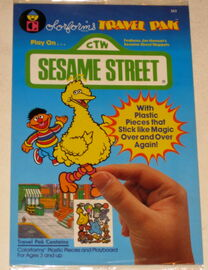 Sesame street 1986 travel pak 1