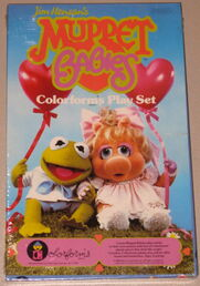 Muppet babies colorforms 1984 set 1