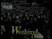 Channel 6 News Weekend opens from November 1990