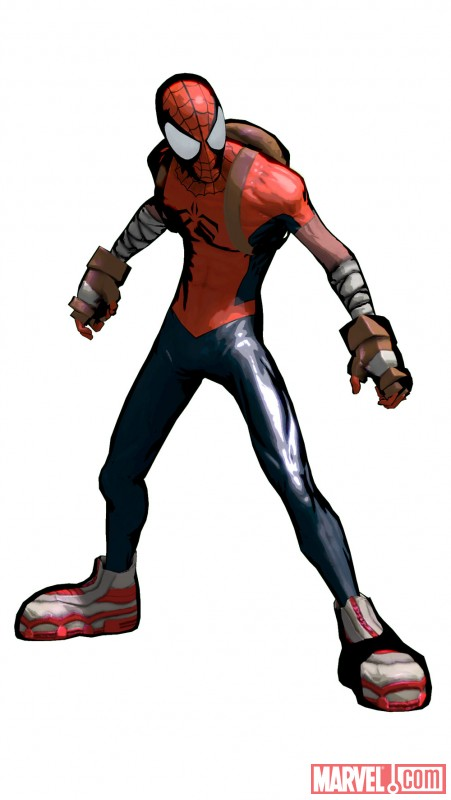 mangaverse spider man shattered dimensions