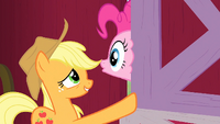 Applejack slams the door S1E25
