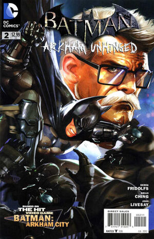 Cover for Batman: Arkham Unhinged #2