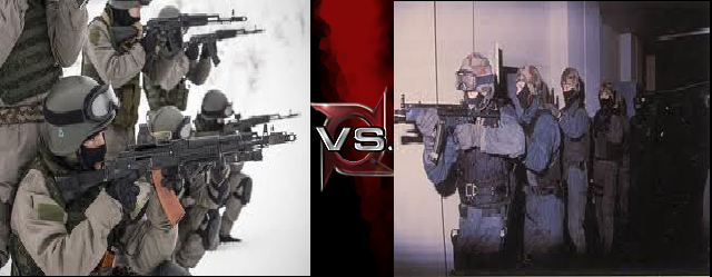 GSG-9 Vs Alfa Group